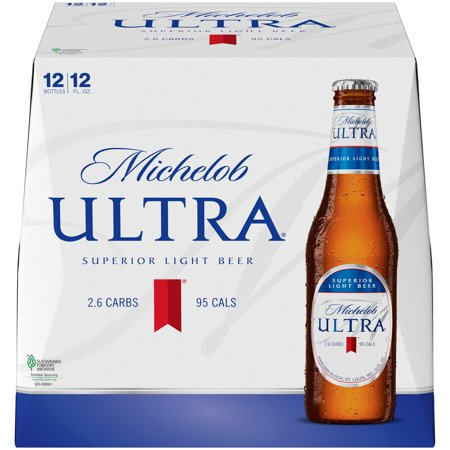 Michelob Ultra Beer 12 Pk 12 Fl Oz Bottles Walmart Com