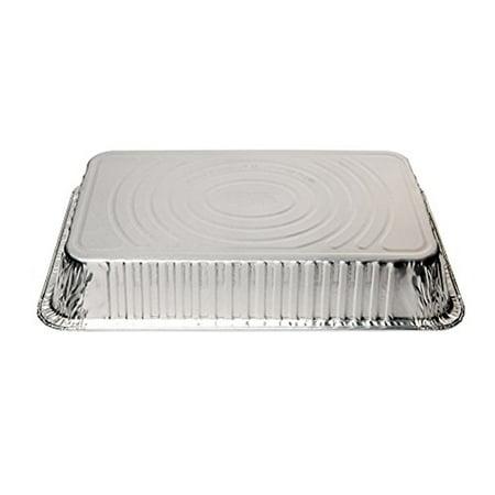 Deep Roaster - Disposable Aluminum Oblong Foil Steam Table Pans, Full Size Deep, Roaster Pans (15 Pack)