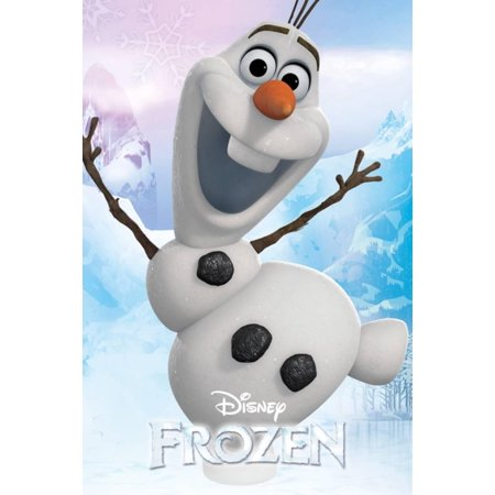 Frozen - Olaf Poster - 24x36](Frozen Poster)