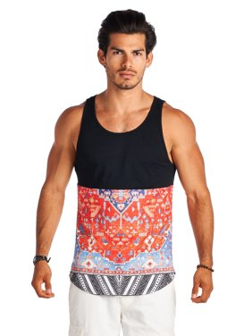 3c8afdfdb Product Image 21 Men Black and Red Graphic Design Sleeveless Shirts. Forever  21