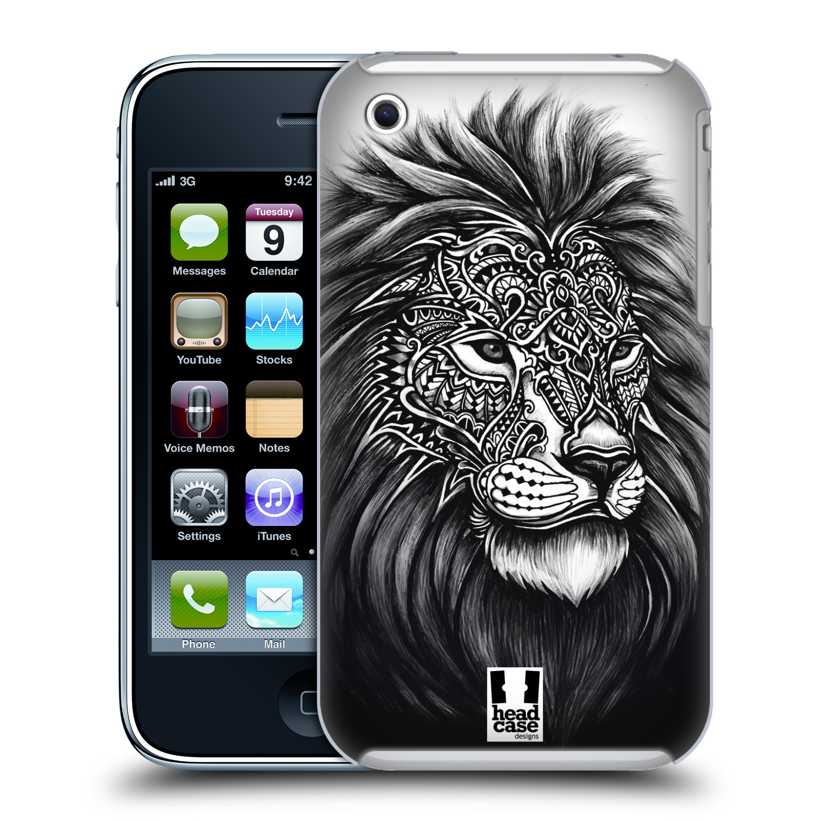 HEAD CASE DESIGNS ORNATE WILDLIFE HARD BACK CASE FOR APPLE IPHONE PHONES