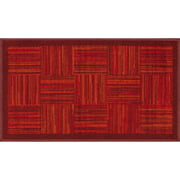 Mainstays Parque Accent Rug, Red