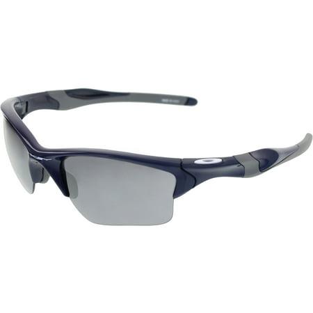 Oakley Half Jacket 2.0 Xl Adult Lifestyle Navy/Iridium Men's Sunglasses, OO9154-915424