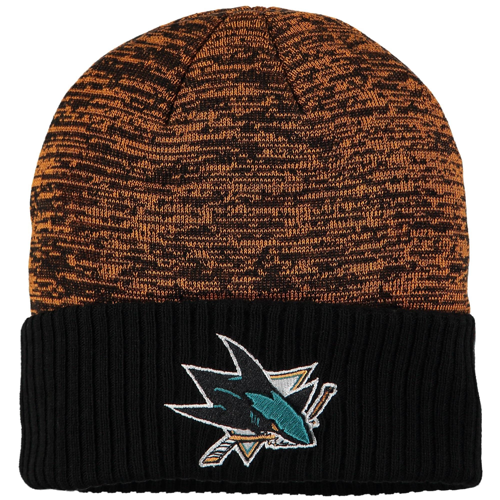 San Jose Sharks Fanatics Branded Space Dye Cuffed Knit Hat - Orange - OSFA