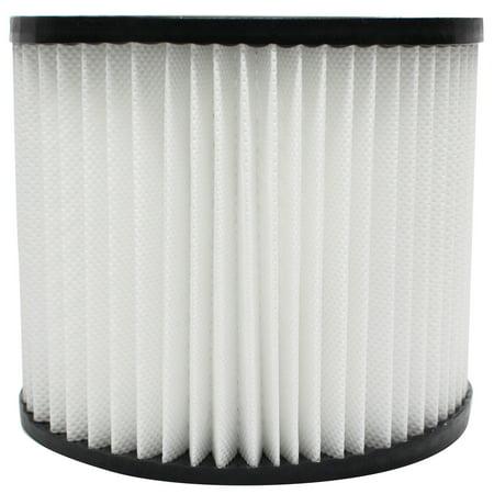 2-Pack Replacement Shop-Vac 587-04-00 Vacuum Cartridge Filter - Compatible Shop-Vac 90398 Cartridge Filter - image 3 de 4
