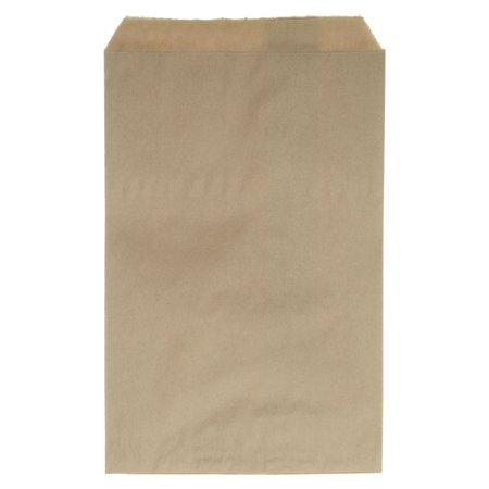 Paper Gift Bag Craft - Paper Gift Bags, for Jewelry and Crafts 9 x 6 Inches, Kraft Brown, 100 Pieces