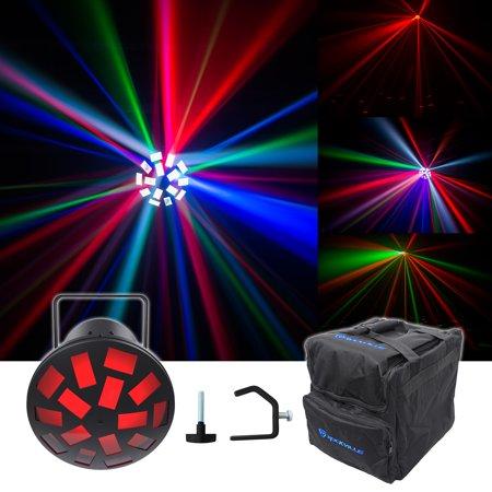 Halloween Party Dance Floor (Chauvet DJ Mushroom Dance Floor Effect Party Light Beam + Carry Bag +)