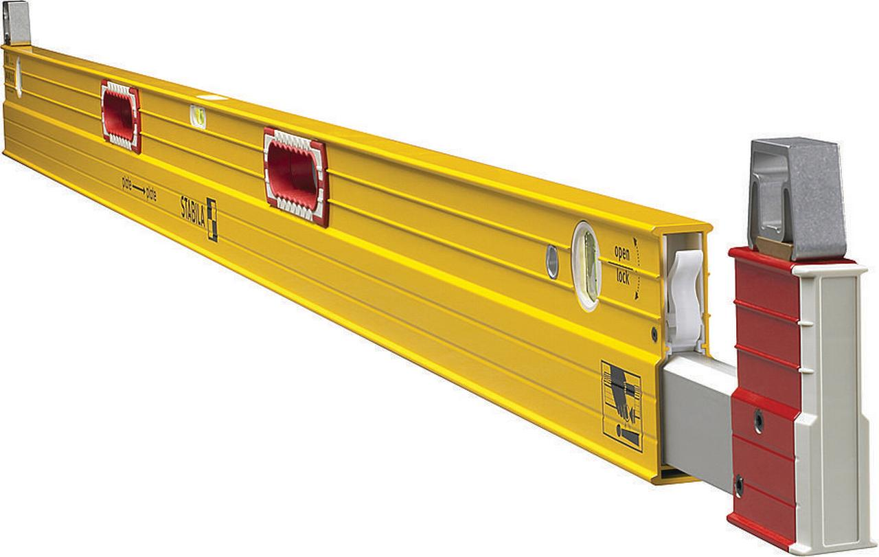 Stabila 35610 Extension Level, 1 32 in 6 10 ft L X 1 in W X 42 in H, Steel by Stabila, Inc.