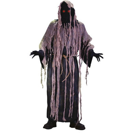 Fun World Light-Up Gauze Ghoul Adult Halloween Costume