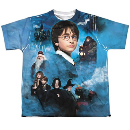 Harry Potter First Year Big Boys Youth Sublimated Polyester - Boys In Harry Potter