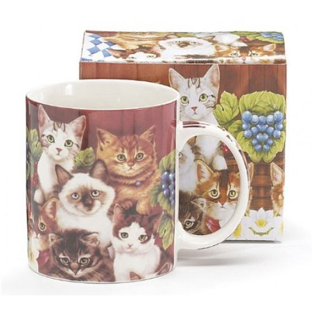 Adorable Kitten/cat Coffee Mug/cup Great Inexpensive Gift for Cat