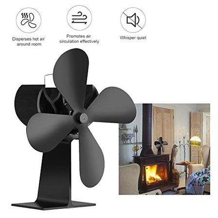 Yunt Fireplace Fan Heating Furnace Heat Ed Stove For Wood Log Burner Eco Friendly