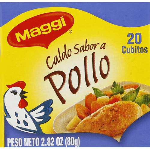 Maggi Chicken Flavor Bouillon Cubes, 2.82 oz, (Pack of 12)