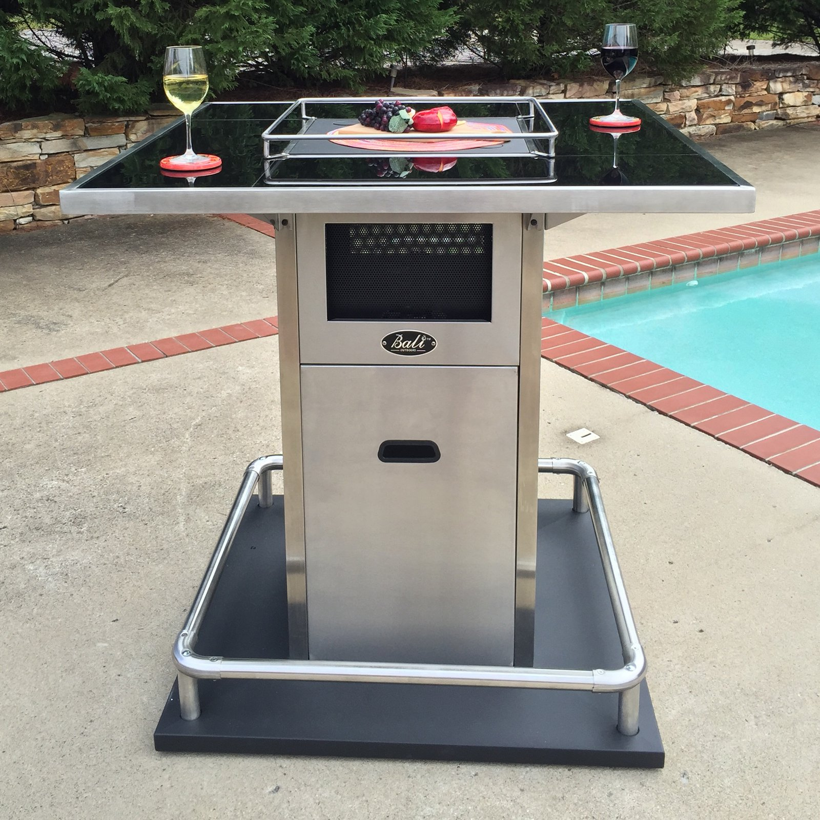 Bali Outdoors Milano Bar Height Fire Table