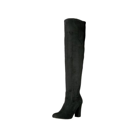 eb3d52d8179 Madden Girl - Madden Girl Womens Felize Fabric Closed Toe Over Knee Fashion  Boots - Walmart.com