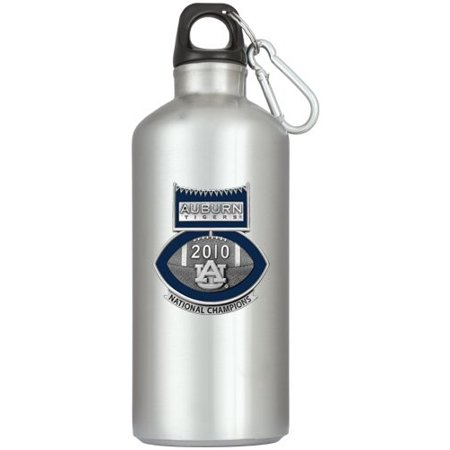 - Auburn Tigers 2010 BCS National Champions Football Logo Water Bottle