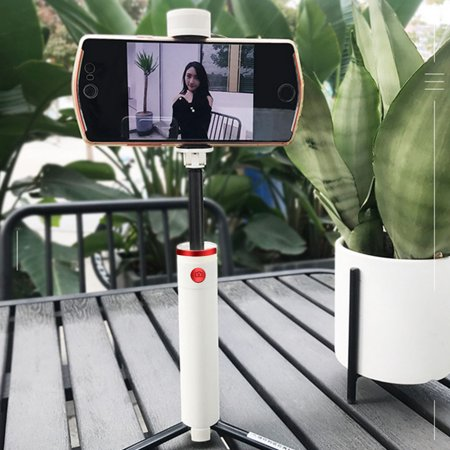 Selfie Stick Tripod, Extendable Selfie Stick with Detachable Bluetooth Remote Shutter and Fill Light, Compatible with Xs max/XS/XR/X/8/8P/7/7P/6s, Galaxy S10/S9/8/7/6, Huawei, More PINK - image 6 de 8