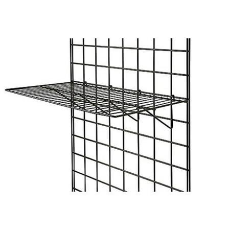 Franke Shelf Grid - Black Grid Panel Display Shelf (2pcs)