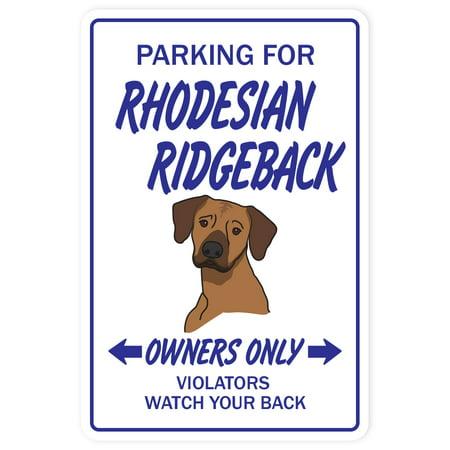 RHODESIAN RIDGEBACK Decal dog pet Decals hound vet groomer | Indoor/Outdoor | 5