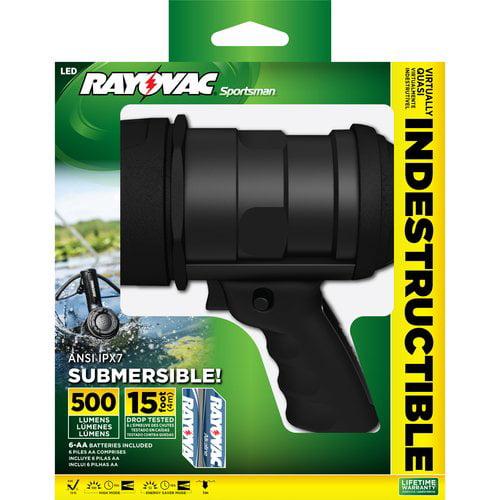Rayovac Sportsman Indestructible Spotlight