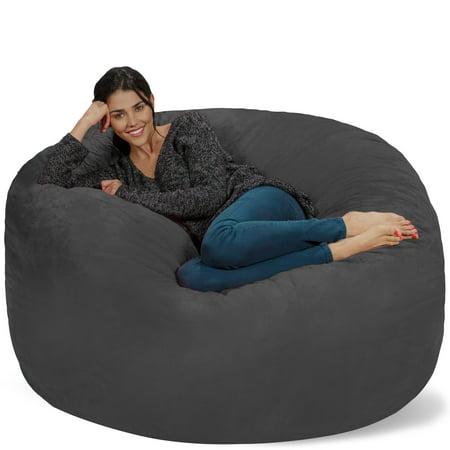 Remarkable Bean Bag Chair 5 Ft Bralicious Painted Fabric Chair Ideas Braliciousco