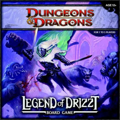 Legend of Drizzt: A Dungeons & Dragons Board Game