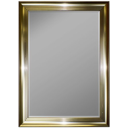 Second Look Mirrors 3 Step Pewter Framed Wall Mirror 36 X