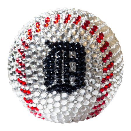 Detroit Tigers Crystal Baseball - No Size