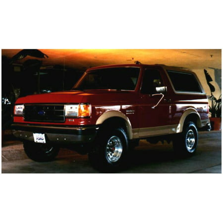 Bushwacker 87-91 Ford F-100 Styleside Extend-A-Fender Style Flares 4pc 81.0/96.0in Bed -