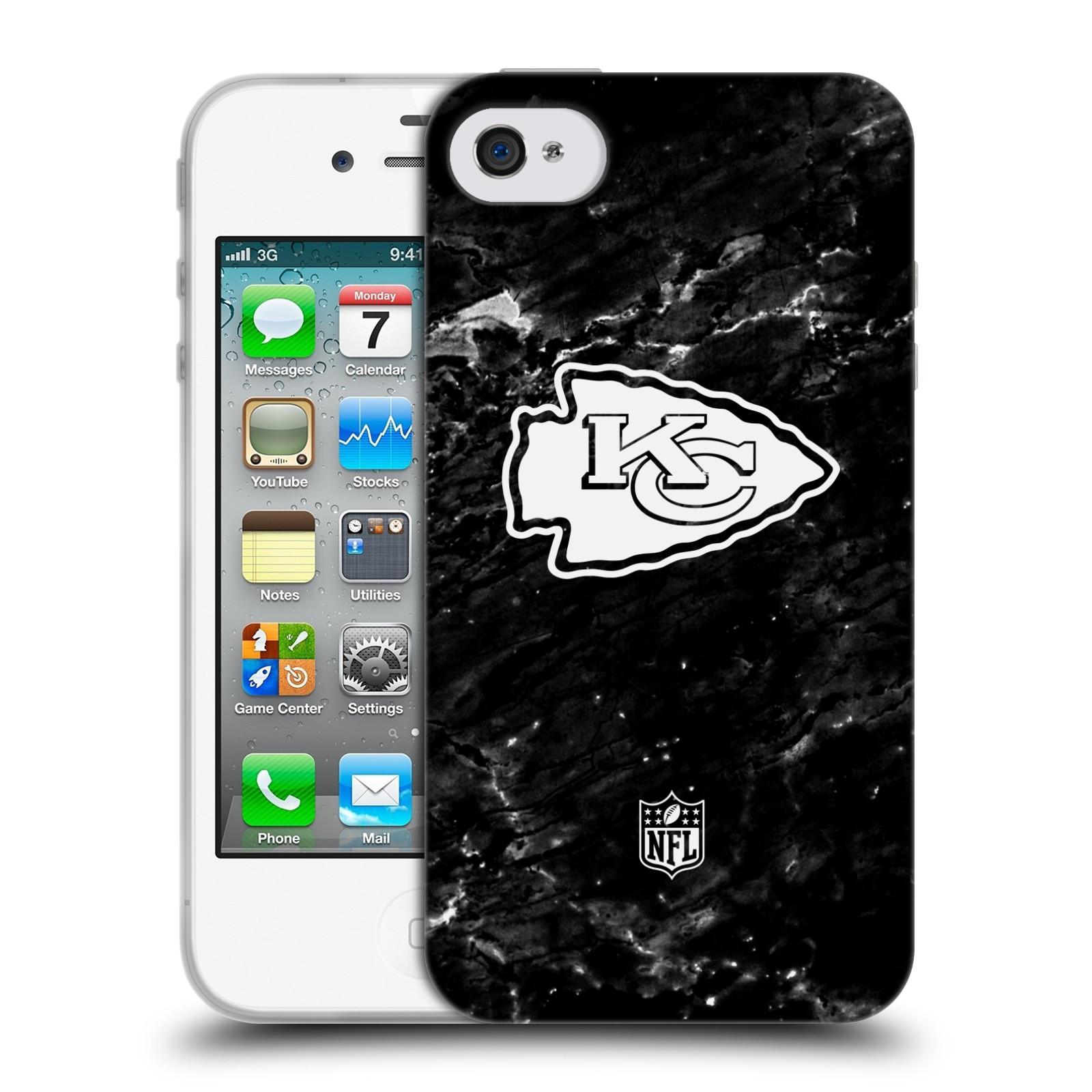 OFFICIAL NFL 2017/18 KANSAS CITY CHIEFS SOFT GEL CASE FOR APPLE IPHONE PHONES