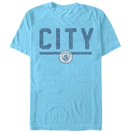 Manchester City Football Club Men's City Stripe (Stripe Football Tee)