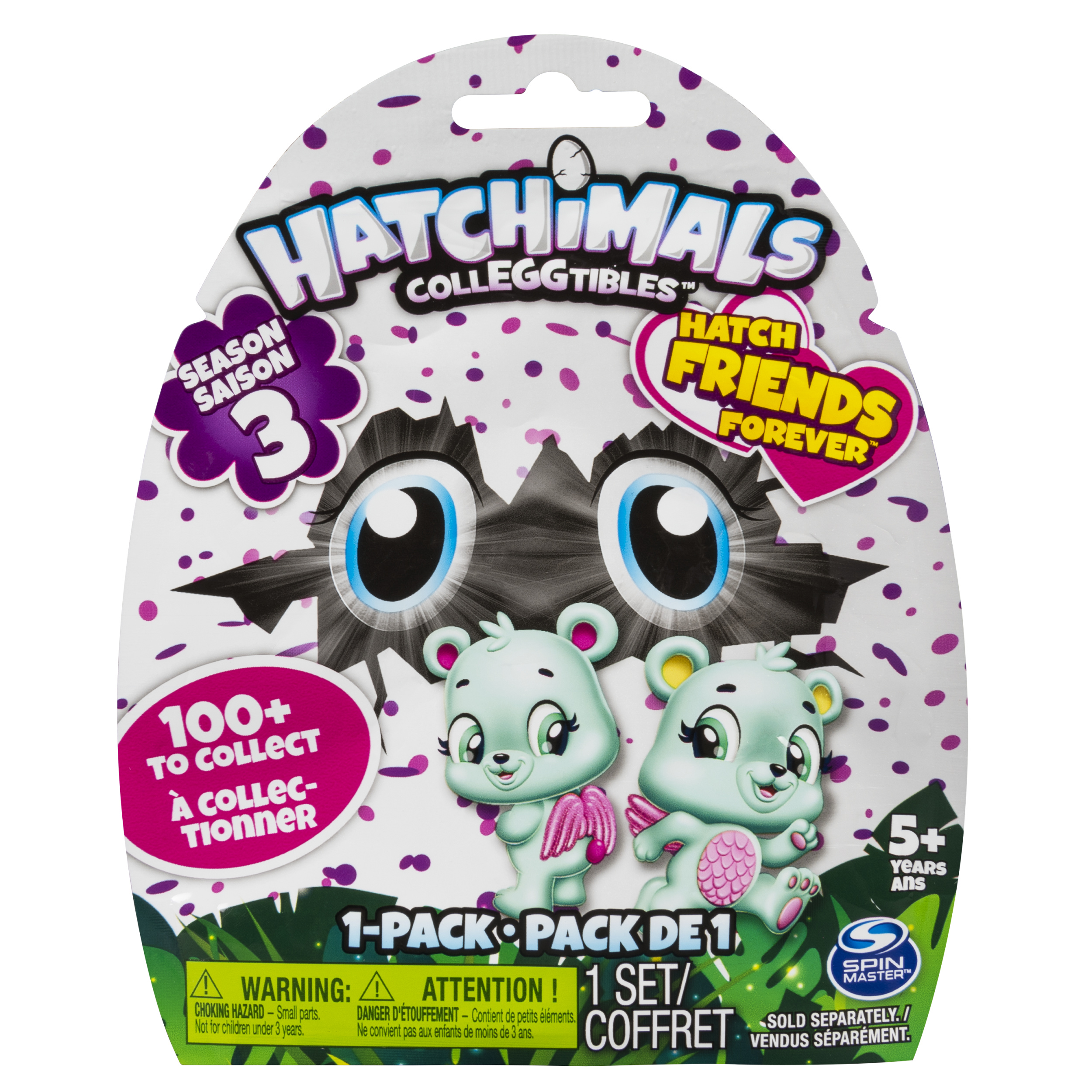 Hatchimals CollEGGtibles Season 3, 1 Pack (Styles & Colors May Vary) by Spin Master