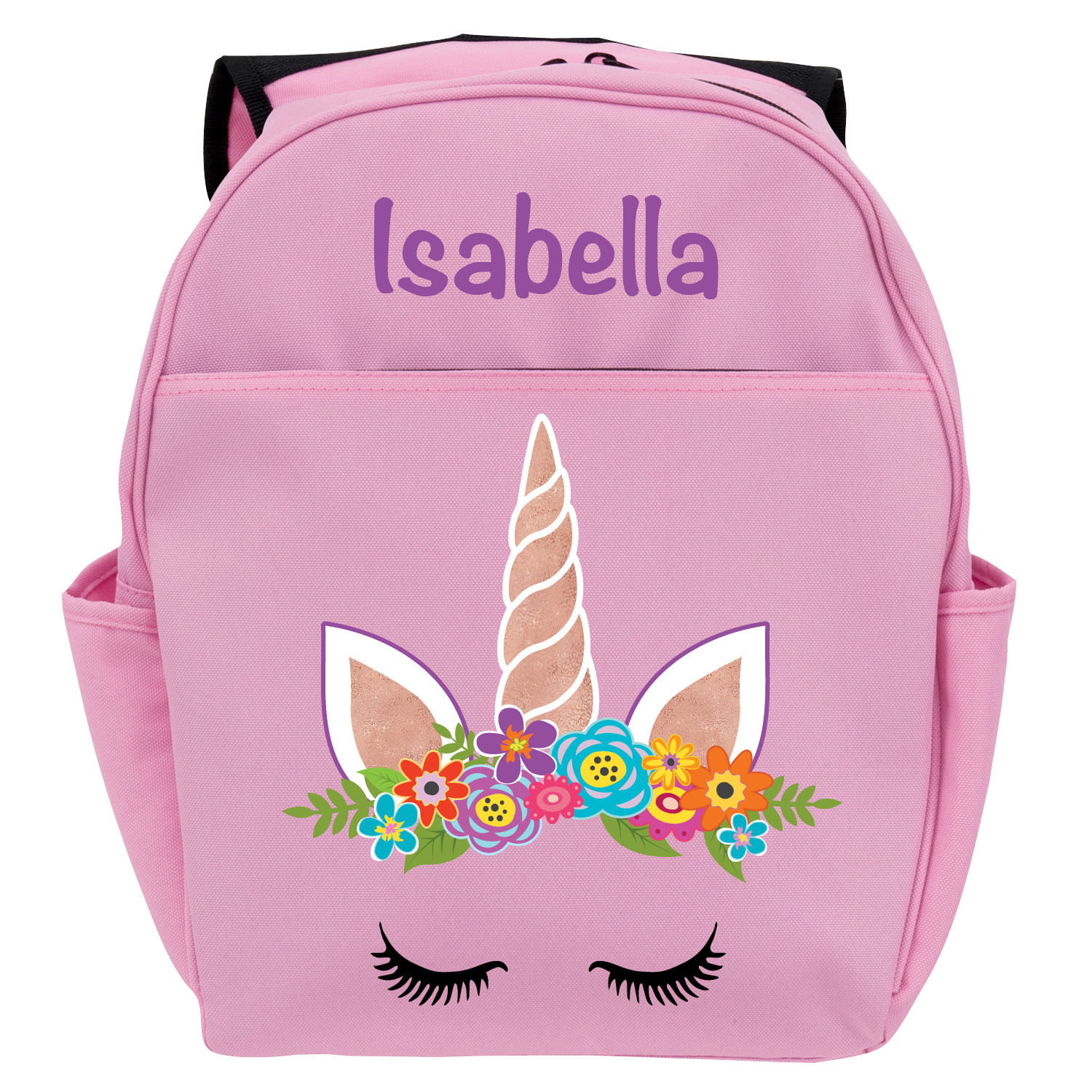 UNICORN Embroidered /& Personalised Backpack Swim Bag Beach Gym Book  School Play