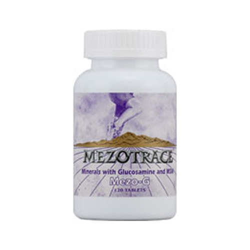 Mezotrace Mezo-G Minerals With Glucosamine And Msm - 120 Tablets