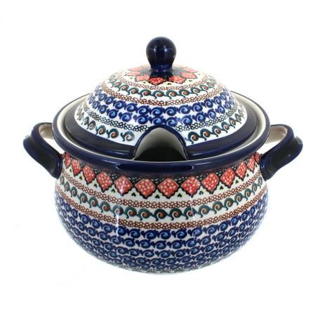 Blue Soup Tureen (Polish Pottery Blue Horizon Soup Tureen )