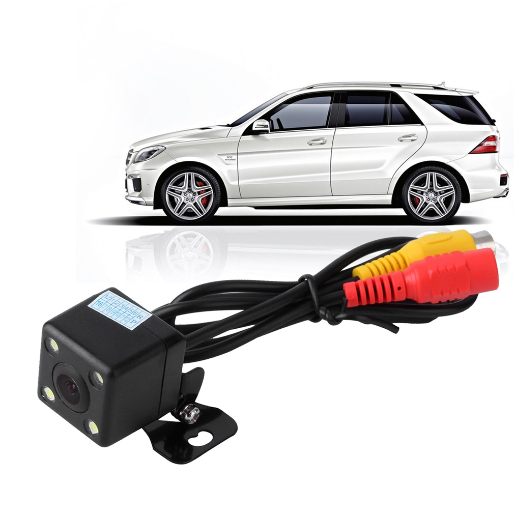 Reversing Backup Car DVD Rear View Camera 4 Led Night Vision 150 Degree View