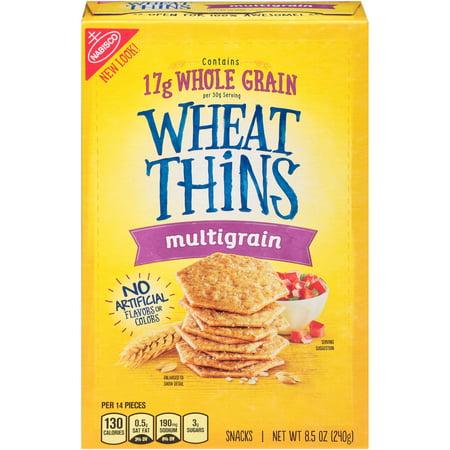 Nabisco Wheat Thins Multigrain Snacks, 8.5 Oz.
