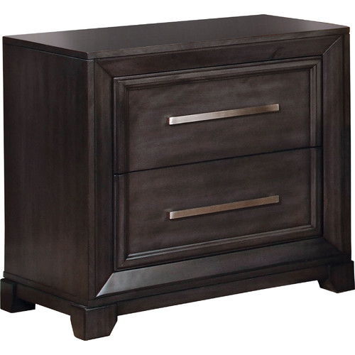 Hokku Designs Peterson 2 Drawer Nightstand