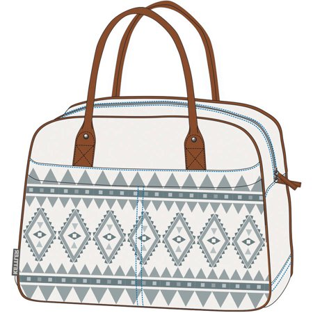 Layana Bag with Click System, Pearl White