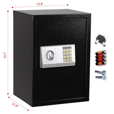 Electronic Lock Box (Ktaxon Digital Electronic Safe Box Keypad Lock Gun Security Steel Safe )