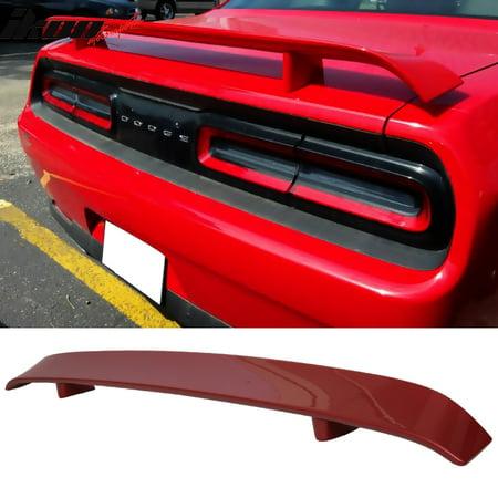 Fits 08-14 Dodge Challenger OE Style Rear Trunk Spoiler ABS Deck Lid Lid Rear Spoiler