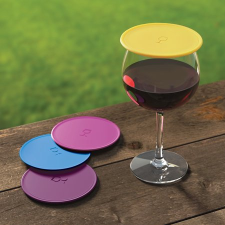 Drink Tops MOD Outdoor Wine Covers - Wine Country - 4 Pack