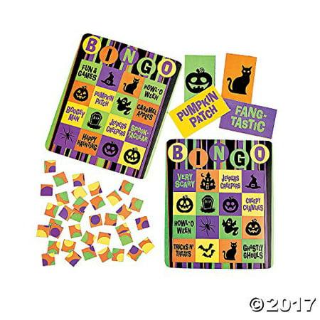 Cardboard Iconic Halloween Bingo Set - 16 Player](Halloween Abc Bingo)