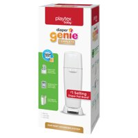 Playtex Diaper Genie Complete White Diaper Pail with 1 Refill