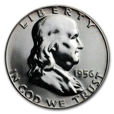 Silver Dollar Gem Proof (1956 Franklin Half Dollar Gem Proof)