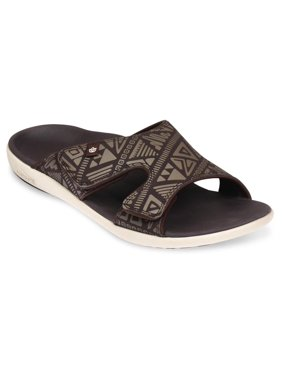 Spenco Tribal - Men's Slide Sandal - Coffee Bean