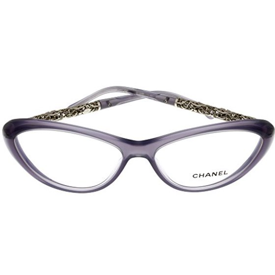 fab49c52da3 Chanel Prescription Eyewear Frames Bijou Lilac Women CH3270 1271 Cateye Size   Lens  Bridge  Temple  58-15-135 - Walmart.com