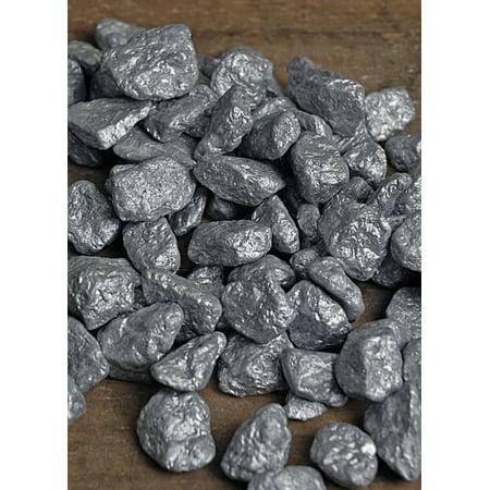 Silver Cobble Stones 1 Lb Vase Fillers Walmart