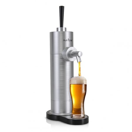 NutriChef PKBRFMSR22 - Automatic Beer Dispenser - Portable Beer Pump -
