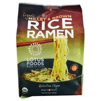 Lotus Foods Organic Rice Ramen Noodles Millet & Brown -- 10 oz pack of 1